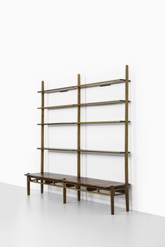 Rare bookcase model nr 85 designed by William Watting and produced by A. Michael Laursen in Denmark