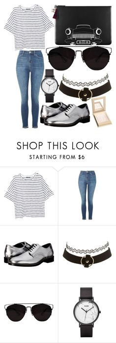 """""""261."""" by plaraa on Polyvore featuring MANGO, Topshop, Dsquared2, Chanel, Charlotte Russe and CLUSE"""