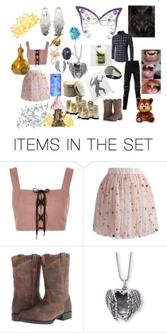 """The Love Between A Fairy and A Werewolf"" by wonderlandishome ❤ liked on Polyvore featuring art"