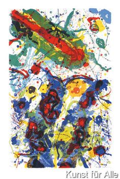 Sam Francis - Untitled 1989 L 282/SF 341