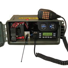 Hammo-Can™ Complete Go-Box portable ham radio in ammo can Camping Survival, Survival Prepping, Emergency Preparedness, Survival Gear, Survival Shelter, Homestead Survival, Survival Stuff, Camping Gear, Radios