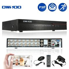 OWSOO 16CH D1 H.264 P2P Network DVR CCTV Security Phone Control Motion Detection Email Alarm for Surveillance Camera