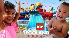 SAMIA GOES TO LEGOLAND WATERPARK IN DUBAI!