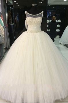 Beautiful Prom Dress, quinceanera dresses new arrival ball gown prom dresses white floor length prom dresses sweet 16 dresses graduation gowns sparkle prom dresses Meet Dresses Puffy Wedding Dresses, Affordable Wedding Dresses, Princess Wedding Dresses, Cheap Wedding Dress, Gown Wedding, Tulle Wedding, Ivory Wedding, Wedding Venues, Exotic Wedding