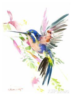 Hummingbird Flying Poster by Suren Nersisyan at AllPosters.com