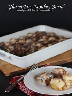 Gluten Free Monkey Bread- So close to the real thing you will never know it is gluten free!