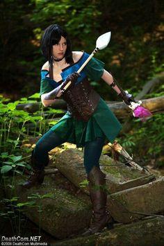 Gwen from Guild Wars