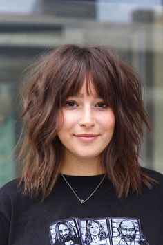 Click the link to see this chic hairstyle and the rest of medium shag haircuts. Photo credit: Instagram @hirohair #mediumshaghaircuts #shaggyhairstyles Medium Shag Hairstyles, Haircuts For Medium Length Hair, Chic Hairstyles, Latest Hairstyles, Shaggy Hair, Rock And Roll Bands, Photo Credit, Hair Cuts, Rest