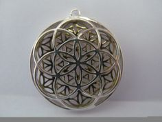 Sacred Geometry Flower of Life Seed of by LoveLightProductions, $108.00