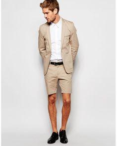 Mens formal shorts