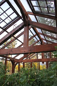 Timber frames, greenhouses and woodworking on Vancouver Island. - West Tide…