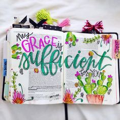 Wonderful colours and adornments. should I put this under Bible Scripture or Rainbows and Kaleidoscopes. (Bible Journaling by Faith Bible, My Bible, Bible Scriptures, Bible Quotes, Wisdom Quotes, Scripture Art, Bible Art, Scripture Journal, Art Journaling