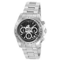 Product Image: Invicta 22864 Men's Disney Limited Edition Black Dial Steel Bracelet Chronograph Dive Watch