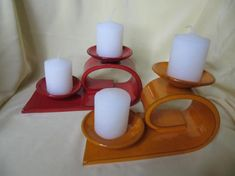 portavelas arcilla y esmaltes hecho a mano Hand Built Pottery, Slab Pottery, Ceramic Pottery, Ceramic Art, Clay Projects, Clay Crafts, Seal Craft, Ceramic Candle Holders, Ceramic Light