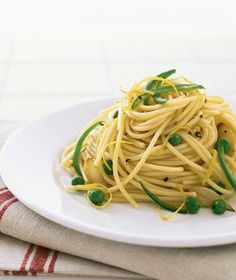 Spicy Lemon Pasta   Real Simple Recipes