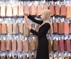 What to Wear Hijab in Nude ScarfThis scarf is a vital item within the attire of women having hijab. Hijab Chic, Casual Hijab Outfit, Hijab Dress, Islamic Fashion, Muslim Fashion, Photo Hijab, Nude Scarves, Mode Turban, Modele Hijab