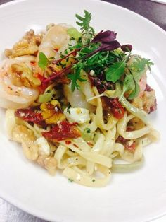 Pasta Ligurian on the menu at Balaban's.