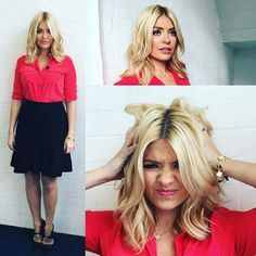 Holly Willoughby - hair length