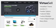 Deals VirtueSell Joomla VirtueMart TemplateYes I can say you are on right site we just collected best shopping store that have