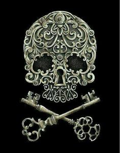 Skull and keys. My favorites
