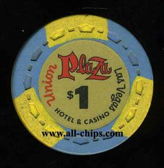 Las Vegas casino Chip of the Day is a $1 Union Plaza 1st issue you can get here http://www.all-chips.com/ChipDetail.php?ChipID=17745