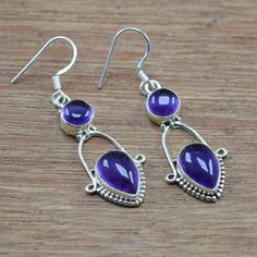200b652db Amethyst Gemstone Wholesale Jewelry 925 Sterling Solid Silver Earring  WE-3554 Silver Pendant Necklace,