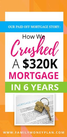 See how this family paid off their mortgage of 320000 in just 6 years to become mortgage free Debt Free Mortgage Free Refinance Mortgage, Mortgage Tips, Mortgage Rates, Paying Off Mortgage Faster, Pay Off Mortgage Early, Mortgage Payment Calculator, Paying Off Credit Cards, Debt Payoff, Debt Free