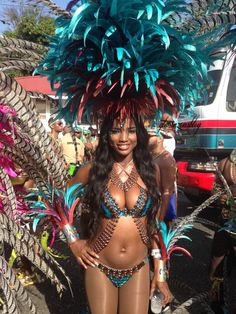 Glamazons, The #CaribbeanCrawl has been a dream come true overall but Tuesday was the pinnacle. On Carnival Tuesday in Trinidad, I played mas for the first time with Yuma Immortal. Trinidad Carnival has been on my bucket list for years --- I'm so glad I finally invested in the trip. I woke up early