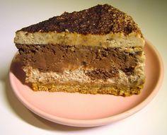 Jesenný gaštanový cheesecake