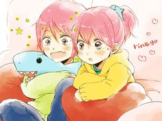 Rin and Gou // Free!