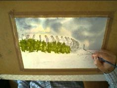 WATERCOLOUR PAINTING LESSON ARMS PARK - YouTube