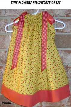 Tiny Flowers Pillowcase Dress | sweetsouthernsass - Clothing on ArtFire