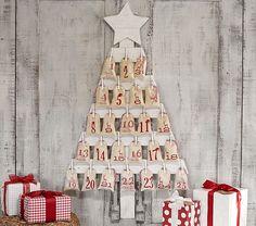 Wooden Tree Advent Calendar | Pottery Barn Kids