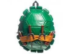 TMNT Backpack With Weapons & Masks - Teenage Mutant Ninja Turtles (2012) Apparel/Accessories