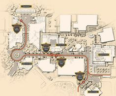 Route planned for Red Car Trolley DCA