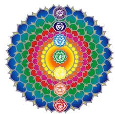 Art Chakra, Chakra Healing, Les Chakras, Seven Chakras, Sacred Art, Sacred Symbols, Chakra Balancing, Wild Hearts, Mandala Art