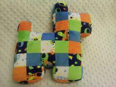Handmade Patchwork Plush Dog by LittleBabybugsLtd on Etsy