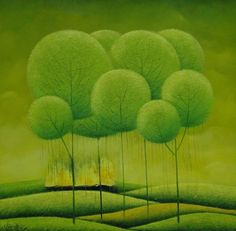 Dandelion trees by Vu Cong Dien.