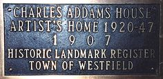 One of my childhood heros lived a stone's throw from New York City. His house still stands.