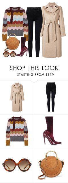 """Untitled #3617"" by bubbles-wardrobe ❤ liked on Polyvore featuring MaxMara, J Brand, Marc Jacobs, Balenciaga, Ralph Lauren and Chloé"