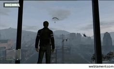 Visiting a friend  #gaming #visiting #friend #animated #gif #entertainment #interesting