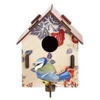 Floral Ornamental Floral Bird Box