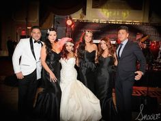 "Nicole ""Snooki"" Polizzi wore Elite by Ines Di Santo as her reception dress!"