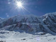 La Grande Barrière #annapurnatrek #nepal #grimpisme