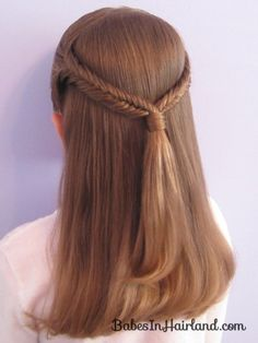 Fishbone Braid Pullback from Babes in Hairland