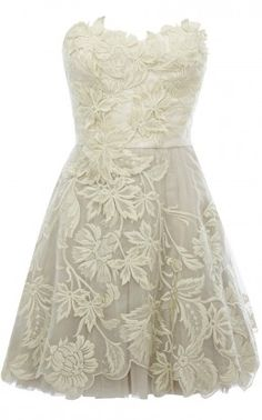 Would be cute for a rehearsal dinner or a casual wedding. :o)