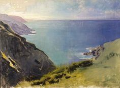 Abbott Henderson Thayer - Cornish Headlands (1898) - Smithsonian American Art Museum, D.C.