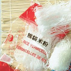 rice vermicelli noodles - Google Search