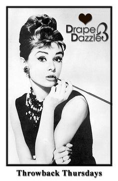 Throwback Thursday!  Love Drape & Dazzle xx  CHANCES TO WIN!!!  Follow us on Twitter at @DrapeandDazzle.