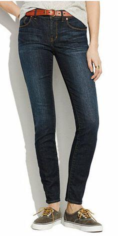 Skinny Skinny Jeans in Waterfall Wash